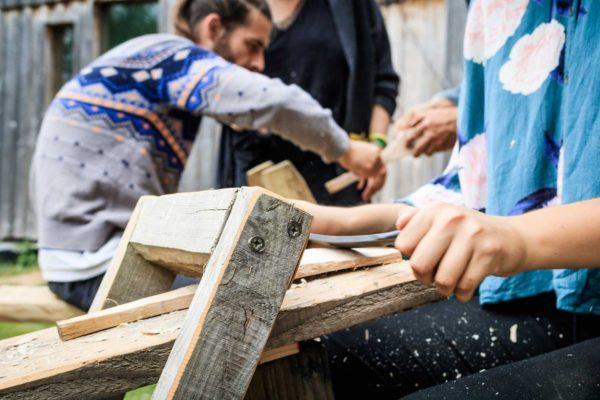 Travail du bois & de l'argile